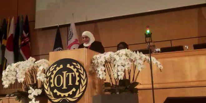 قادري أمام مؤتمر العمل الدولي: العمال السوريون في الجولان المحتل يواجهون إرهابا ممنهجاً