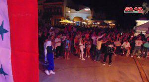 حضور متميز لفرقة (موزاييك) السورية بحفل فني في رومانيا