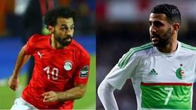 مدرب الجزائر يرفض المقارنة بين محرز وصلاح