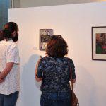 غزارة في الأفكار والتقنيات بمعرض الفنان التشكيلي الراحل عبد الله عبيد