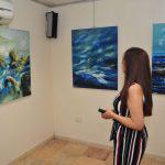 (أمواج من بوح)… معرض للفنانة ربا قرقوط