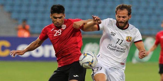 فريق الجيش يودع كأس الاتحاد الآسيوي لمنطقة غرب آسيا بكرة القدم