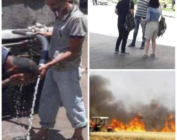 """حالات إغماء في """"دمشق"""" .. منع طالبة من دخول الجامعة .. الإدارة الذاتية ستعوض المزارعين .. أبرز أحداث اليوم"""