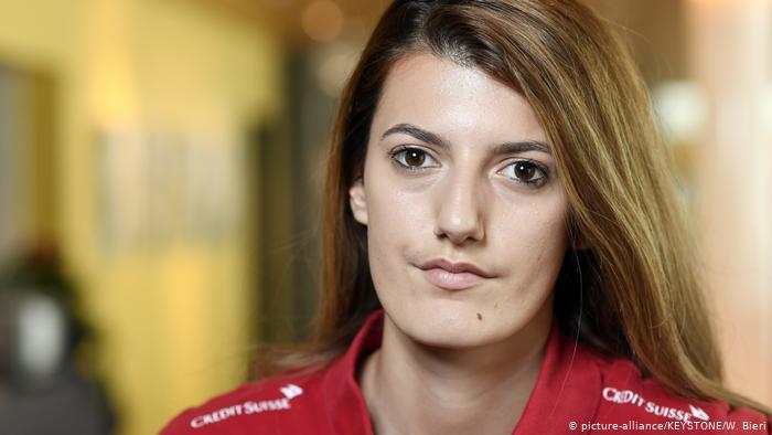 Schweiz Florijana Ismaili Fussballspielerin (picture-alliance/KEYSTONE/W. Bieri)