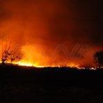 مصرع شخص وإصابة آخرين جراء حريق كبير غرب دمشق