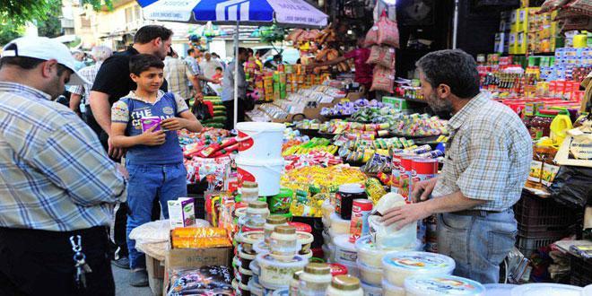 تنظيم 3678 ضبطاً وإغلاق 315 محلاً تجارياً مخالفاً للشروط الصحية في دمشق