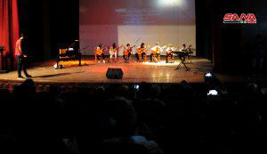 أمسية موسيقية لطلاب معهد أرابيسك بثقافي السويداء