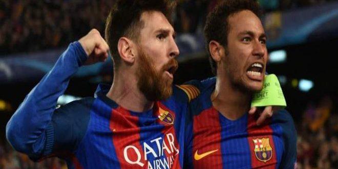 ميسي يشترط عودة نيمار إلى صفوف النادي الكتالوني لتجديد عقده معه