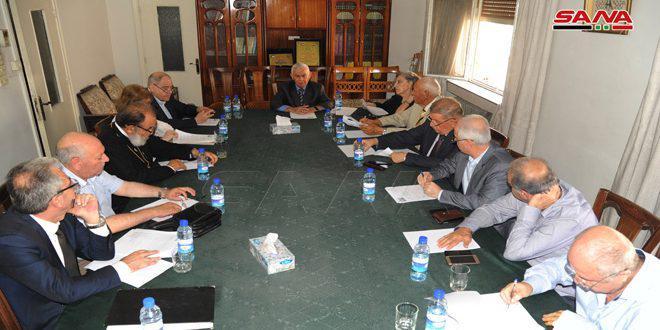 لجنة دعم الشعب الفلسطيني تندد بالعدوان الإسرائيلي على محيط دمشق والضاحية الجنوبية في لبنان