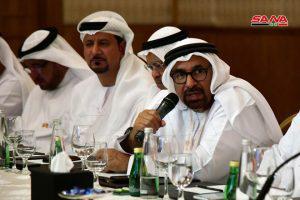 الفرص الاستثمارية المتاحة في سورية ضمن ملتقى القطاع الخاص السوري الإماراتي