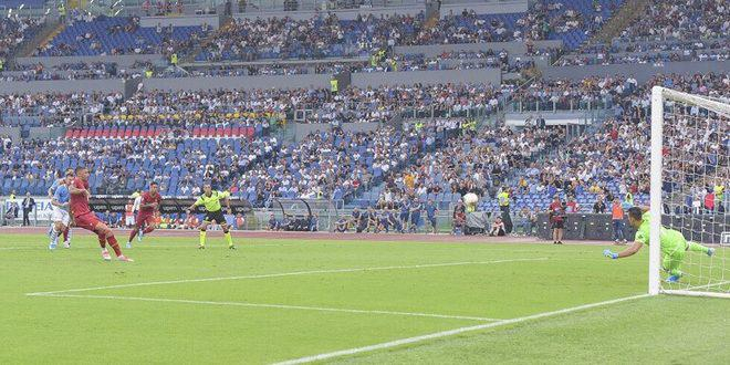 لاتسيو وروما يتعادلان بهدف لكل منهما في الدوري الإيطالي لكرة القدم