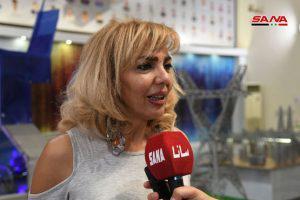 هوية بصرية حقيقية بجناح وزارة الكهرباء استقطبت زوار معرض دمشق الدولي