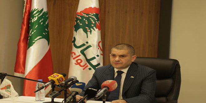سياسي لبناني:لو لم تتم مواجهةالإرهاب في سورية لتمدد بأرجاء العالم