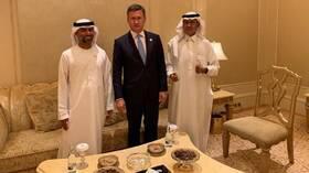 لقاء روسي سعودي إمارتي في أبو ظبي قبل اجتماع