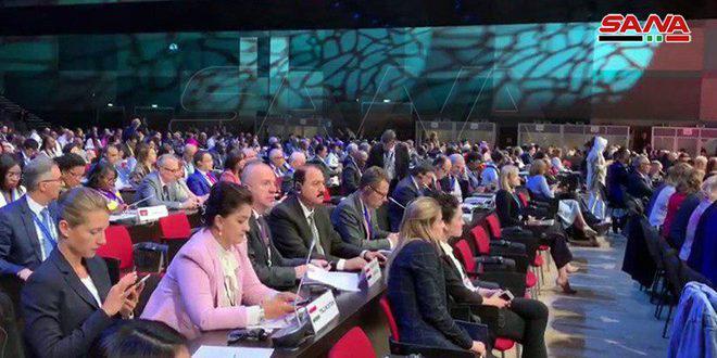 سورية تشارك في أعمال الجمعية العامة لمنظمة السياحة العالمية في سان بطرسبورغ