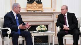 نتنياهو يعتزم مناقشة الوضع في سوريا مع بوتين