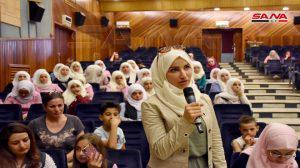 فعاليات منوعة للأطفال ضمن احتفالية مدرستي إطلالة فرح في حمص
