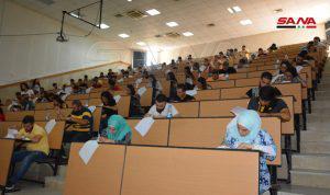 146 متقدماً للامتحان الوطني الموحد لطب الأسنان في جامعة البعث