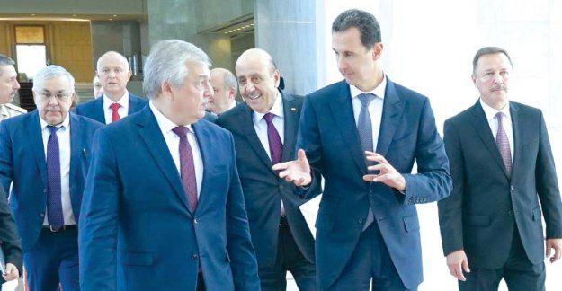 الاتفاق على أسماء «اللجنة الدستورية» خلال لقاء الرئيس الأسد بالوفد الروسي