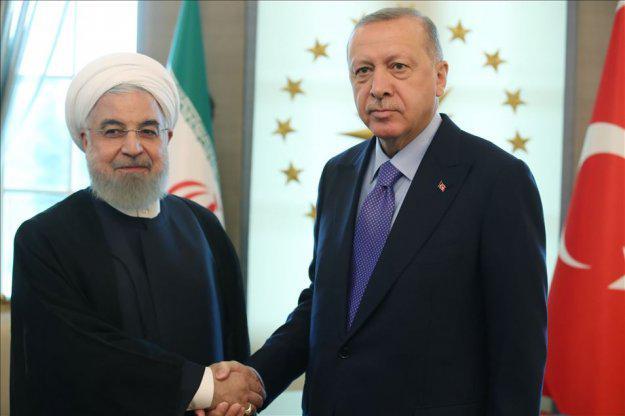 أردوغان يلتقي روحاني قبيل القمة الثلاثية حول سورية