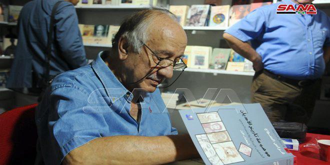 فراس السواح يوقع سلسلة من كتبه في معرض الكتاب