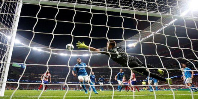 تعادل أتليتيكو مدريد أمام يوفنتوس بهدفين في بطولة أوروبا