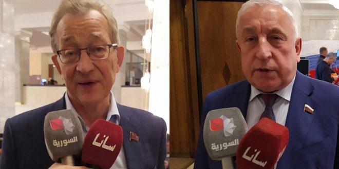 برلمانيان روسيان: العدوان التركي على الأراضي السورية تصرف إجرامي