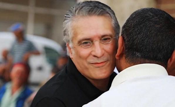 خروج المرشح للرئاسة التونسية نبيل القروي من السجن