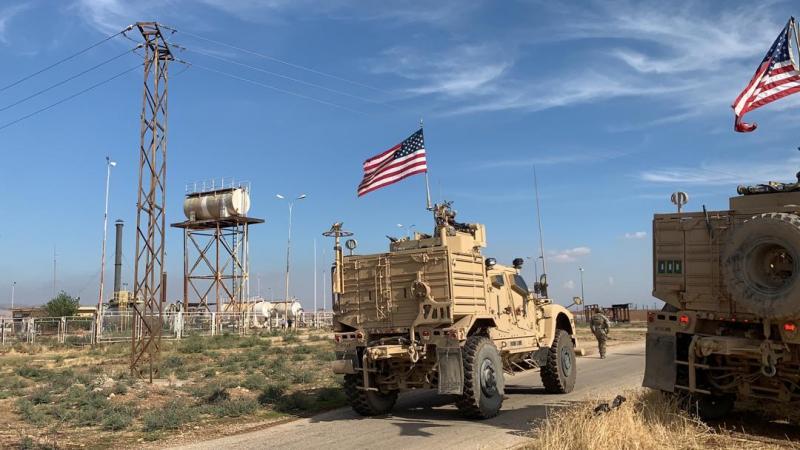 انتشار القوات الخاصة الأميركية قرب حقول النفط والغاز بمنطقة آليان والرميلان شمال شرقي سوريا (صور)