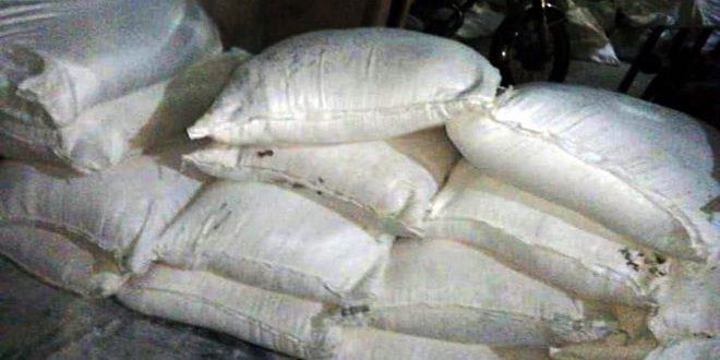 حمص.. ضبط أكثر من 3 أطنان من الدقيق التمويني معدة للتصرف لغير الغاية المخصصة لها