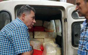 ضبط أكثر من 6 أطنان جبنة قشقوان منتهية الصلاحية في مستودع بشارع بغداد