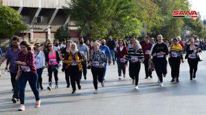 أكثر من 1400 شاب يشاركون في ماراثون السلام من أجل سورية: رسالة فرح ومحبة