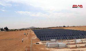 في الخدمة قريباً.. مشروع محطة طاقة شمسية لتوليد الكهرباء في قرية الحميري بريف حماة