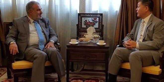 سفير الصين في لبنان يجدد موقف بلاده الداعم لسيادة سورية