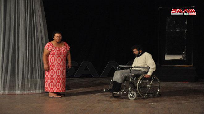 مسرحية قمامة في ثاني أيام مهرجان السويداء المسرحي