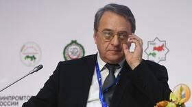 بوغدانوف يبحث مع عراقجي مبادرتين للأمن في الخليج