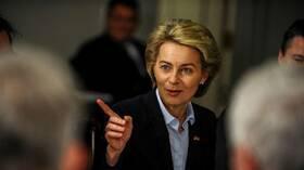 رئيسة المفوضية الأوروبية تطالب أوروبا بأن تتعلم لغة القوة