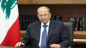 عون يطلب العون من الدول العربية للنهوض بالاقتصاد اللبناني