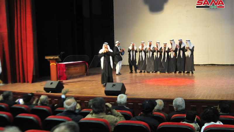 حفل فني ومحاضرات وأمسيات تراثية في ختام فعاليات مهرجان التراث الشعبي بالسويداء