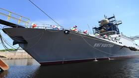 أسطول البحر الأسود الروسي يتسلم فرقاطة جديدة