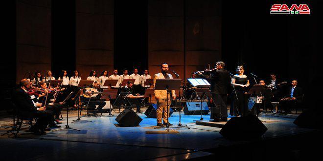 ختام احتفالية يوم وزارة الثقافة بحفل غنائي لفرقة (سورية النصر) في دار الأسد