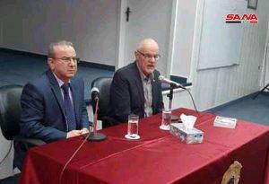 الباحث الاسترالي تيم أندرسون يقدم إضاءة حول كتابيه (الحرب القذرة على سورية) و(محور المقاومة)