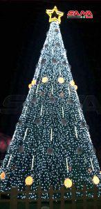 بمناسبة أعياد الميلاد… إضاءة شجرة في الحواش وقرى عدة بريف حمص