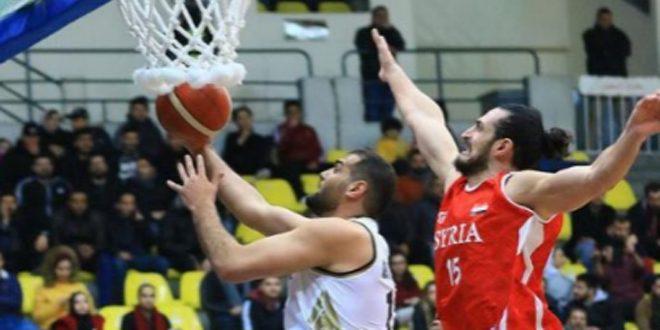 منتخب سورية لكرة السلة للرجال يخسر أمام نظيره الأردني ببطولة الأردن الدولية