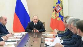 مجلس الأمن الروسي يبحث الوضع في إدلب وفيروس كورونا