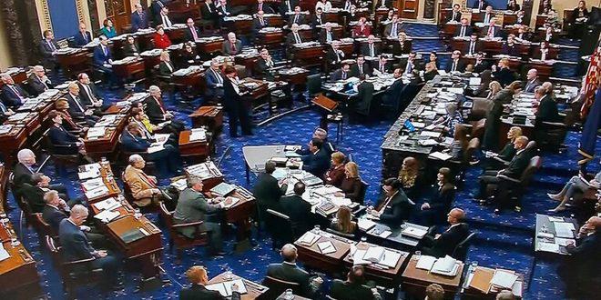 بعد إخفاقين متتاليين مجلس الشيوخ الأمريكي يوافق على مشروع قانون لإنقاذ الاقتصاد الأمريكي
