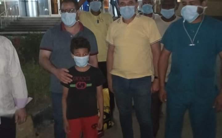 تعافي أسرة مصرية من كورونا بشكل كامل (صور)