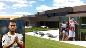 بالصور.. جولة داخل قصر إدين هازارد الذي يساوي أكثر من 12 مليون دولار