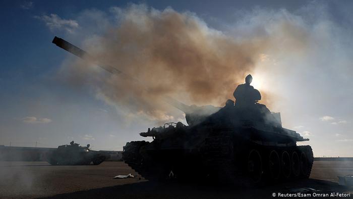 صورة رمزية للحرب في ليبيا