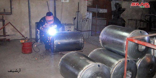 تأهيل 2732 منشأة صناعية وحرفية وعودتها للعمل بحمص